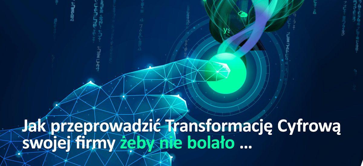 Jak przeprowadzić Transformację Cyfrową  swojej firmy żeby nie bolało …